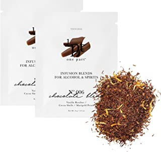 Teroforma 1pt CHOCOLATE Infusion Blend for Alcohol & Spirits – Flavor Infuser Packets for Home Infusion (Single Pack, 2 Packets)