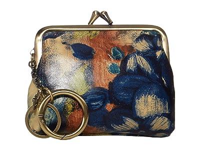 Patricia Nash Large Borse (Blue Clay/Floral) Handbags