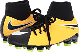 Nike Kids - Hypervenom Phelon III Dynamic Fit Firm Ground Football Boot (Little Kid/Big Kid)