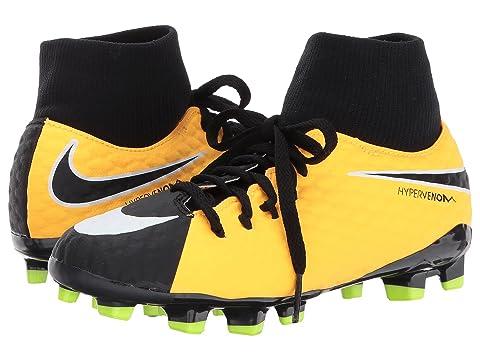 cheap for discount b1391 f0874 Nike KidsHypervenom Phelon III Dynamic Fit FG Soccer Boot (Little Kid Big  Kid)
