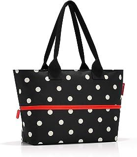 reisenthel shopper e1 mixed dots Sac de sport grand format 50 centimeters 18 Noir (Mixed Dots)