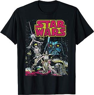 Star Wars Comic Book Cover Art Camiseta