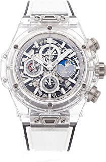 Hublot Big Bang Unico Mechanical (Automatic) Skeletonized Dial Mens Watch 406.JX.0120.RT (Certified Pre-Owned)