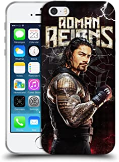 Official WWE Roman Reigns Superstars Soft Gel Case Compatible for iPhone 5 iPhone 5s iPhone SE
