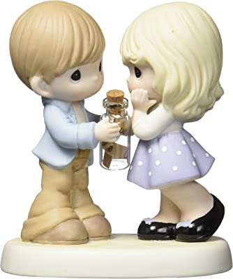 Precious Moments Sending All My Love To You Bisque Porcelain Figurine 159024