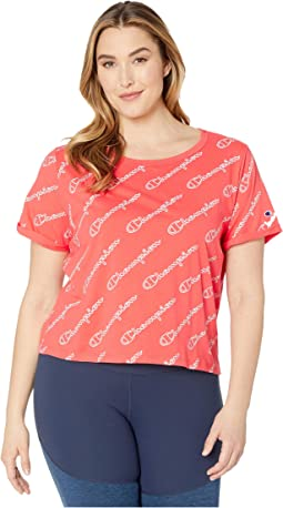 Champion Outline Script Groovy Papaya