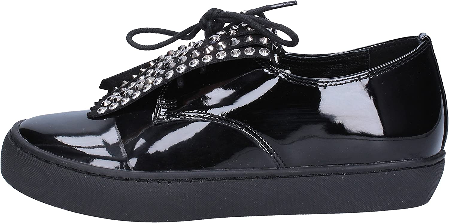 SARA LOPEZ Oxfords-shoes Womens Black