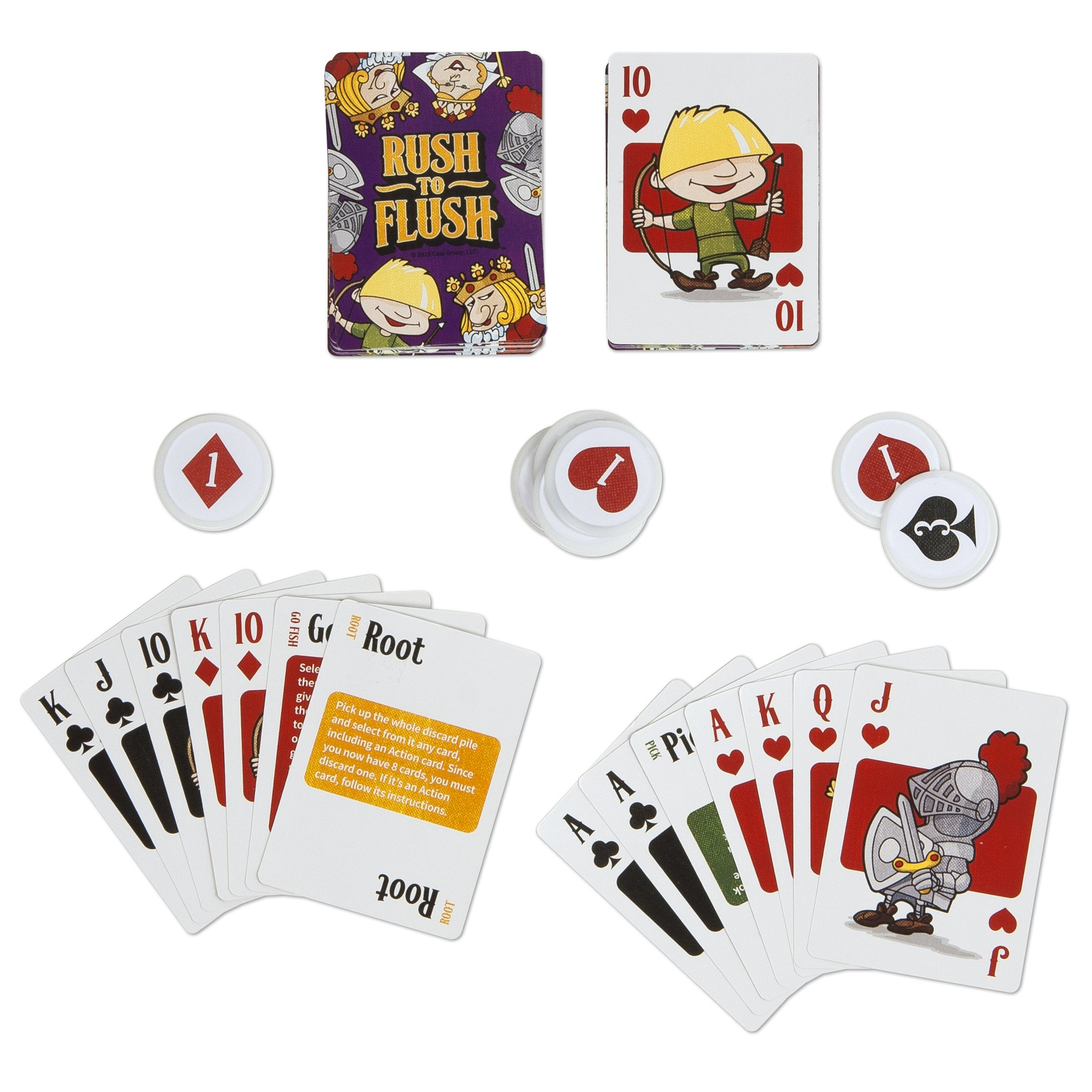 MBS Rush to Flush Card Game