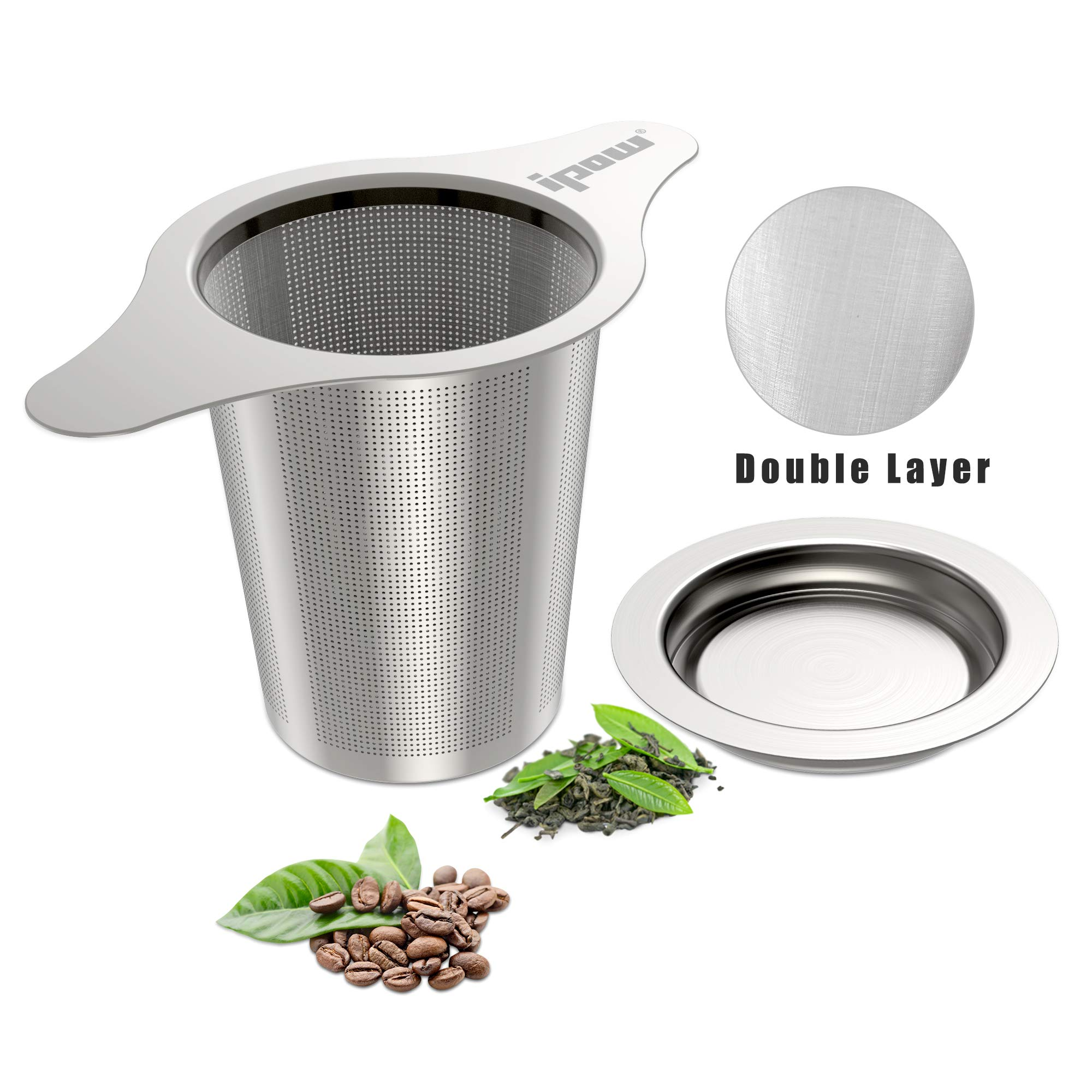IPOW Upgraded Stainless Infuser Strainer