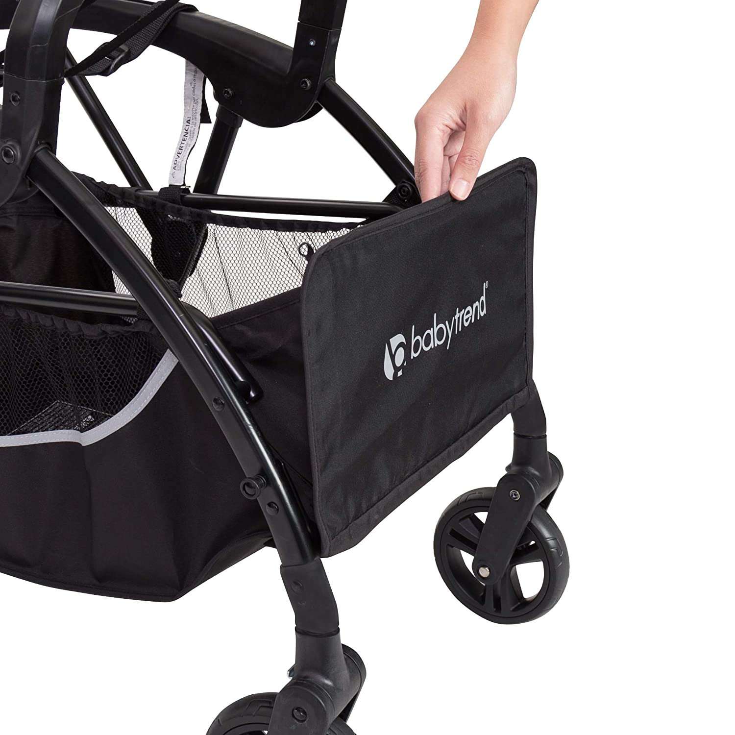 Baby Trend Snap-N-Go Premiere Universal Infant Car Seat Carrier, Black