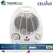 SCENIC TECH Electric Quality Portable Heater 2000W Thermostat Multi Heat & Cool Fan Setting