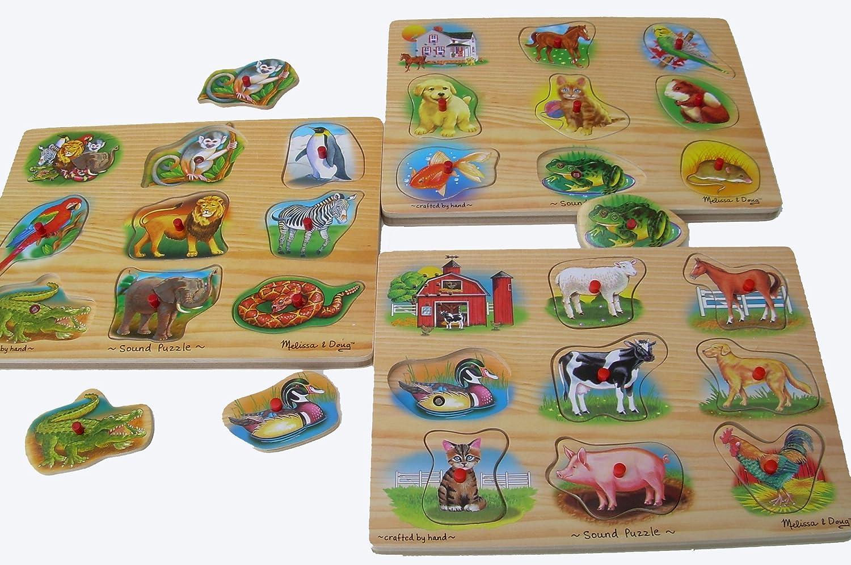 barato y de moda Puzzle con con con Animales Con Sonido  cómodo