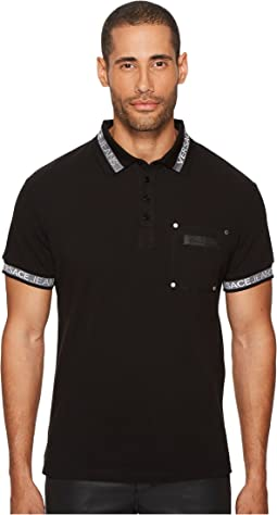 Versace Jeans - Printed Pocket Polo