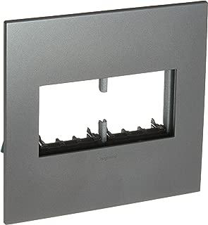 PASS & SEYMOUR AWP2GMG4 Adorne, 2 Gang, Magnesium Wall Plate