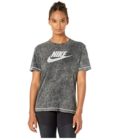 Nike NSW Short Sleeve Top Rebel (Black) Women