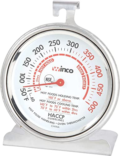 Winco-B001B4KUPY-3-Inch-Dial-Oven-Thermometer-with-Hook