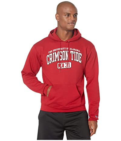 Champion College Alabama Crimson Tide Eco(r) Powerblend(r) Hoodie (Cardinal 2) Men