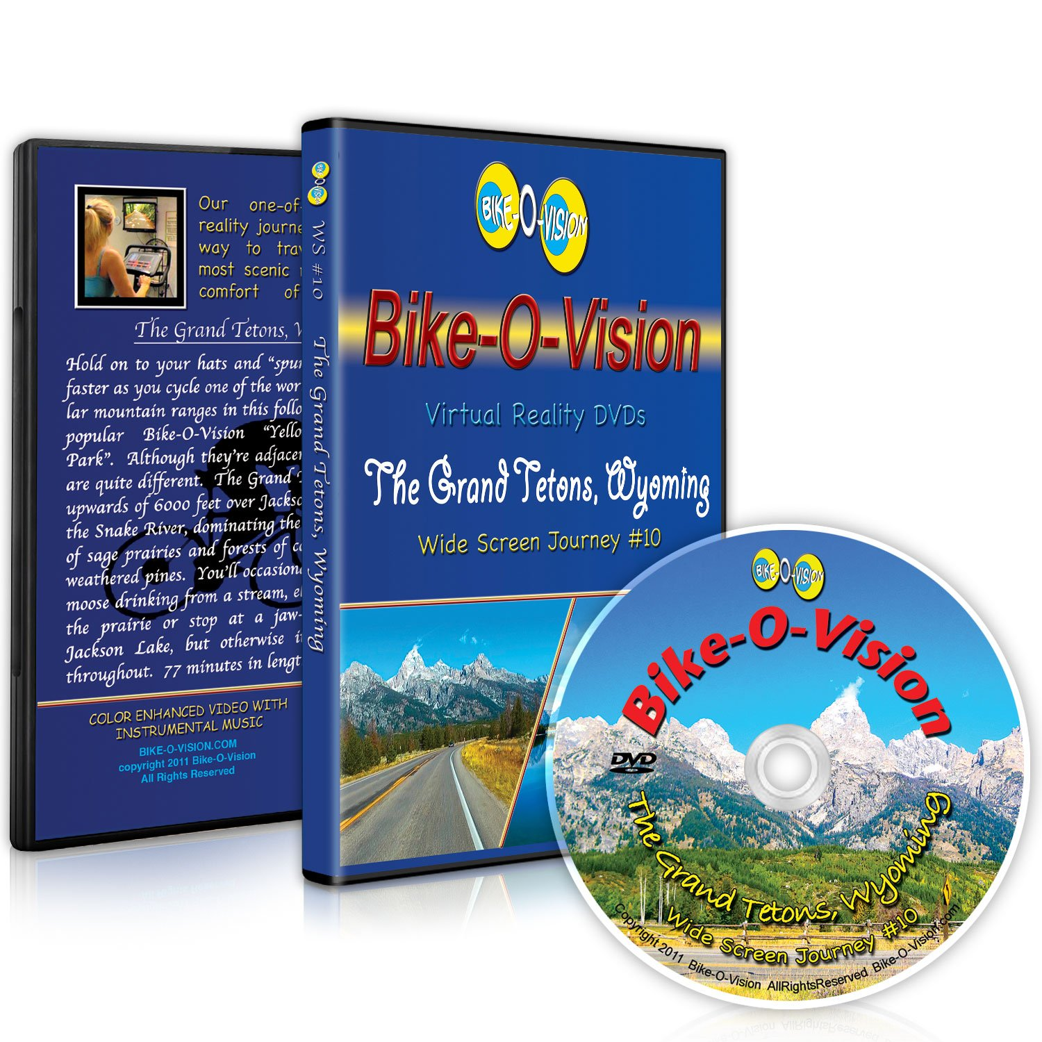 Bike-O-Vision Cycling Video- The Grand All items in Special price for a limited time the store Wyoming #10 WS Tetons
