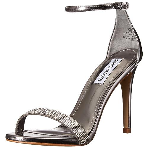 0e258959985 Steve Madden Women s Stecy-S Heeled Sandal