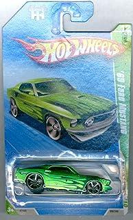 HOT WHEELS 2010 TREASURE HUNT 12/12 GREEN '69 FORD MUSTANG