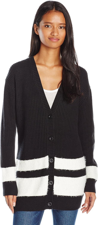 RVCA Womens Warm One Cardigan Sweater Cardigan Sweater