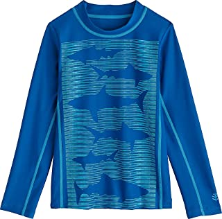 Coolibar UPF 50+ 儿童冲浪衬衫 - *