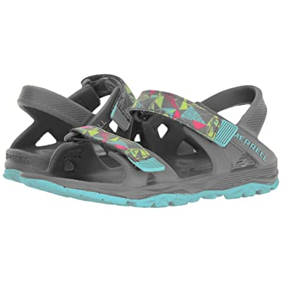 Merrell Kids Hydro Drift (Toddler/Little Kid/Big Kid) (Grey/Multi) Girls Shoes