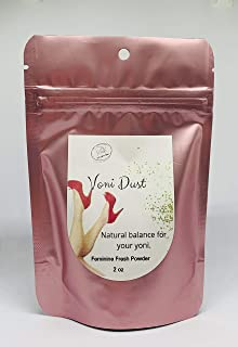 Voni Dust Vaginal Odor Eliminator Powder – Medical-Grade Boric Acid For Yoni pH Balance - All-Natural Intimate Feminine Health Support Against BV And Yeast Infections (2oz)
