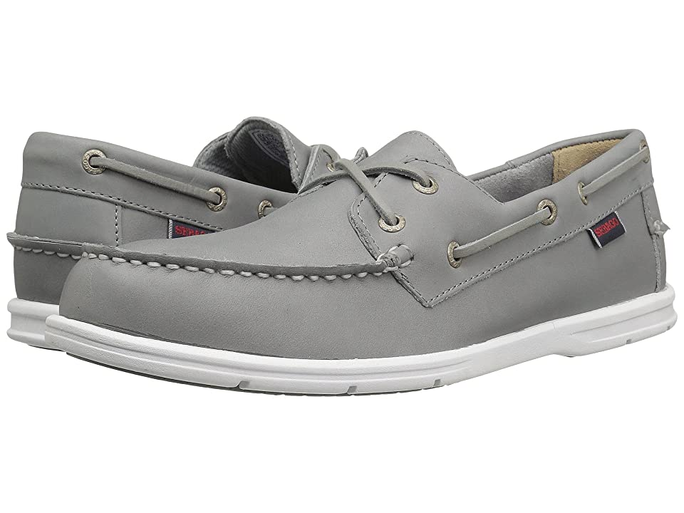 Sebago Litesides Two Eye (Grey Leather) Men