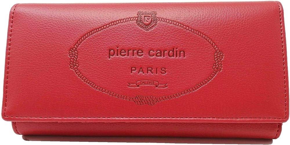 Pierre cardin ,  portafoglio da  donna , in ecopelle