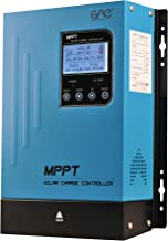 60A MPPT Solar Charge Controller 60amp Panel Battery Charger Controller 48V 36V 24V 12V Auto Max 150VDC Input mppt Charge Controllers Sealed Gel AGM Flooded Lithium Battery