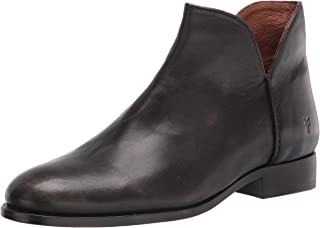 Frye Women's Melissa Shootie Ankle Boot, Dark Brown, 9.5