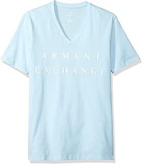 Armani Exchange T-Shirts For Men L, Blue