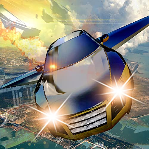 Flying Car Simulator Driving