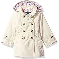 Girls' Hooded Trench Coat