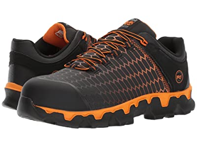 Timberland PRO Powertrain Sport Alloy Safety Toe EH (Black/Orange Raptek) Men