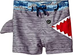 Mud Pie Shark Swim Trunks (Infant/Toddler)