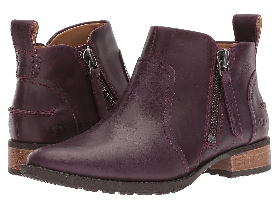 UGG Aureo Boot (Oxblood Leather) Women