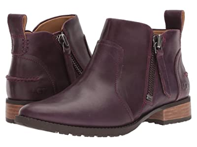 UGG Aureo Boot (Oxblood Leather) Women