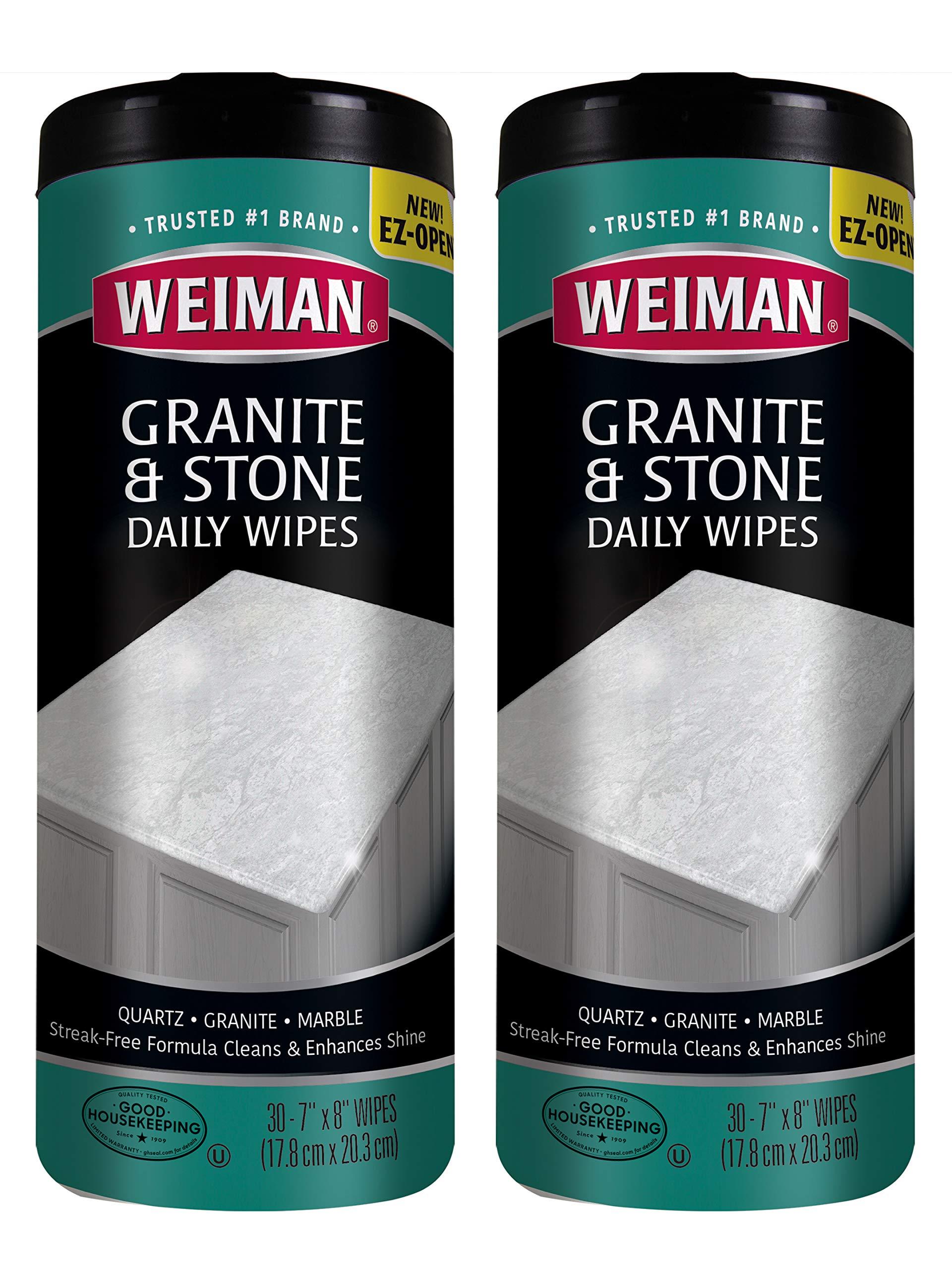 Weiman Granite Wipes Brighten Protects