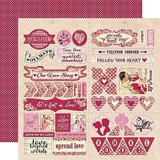 Romance Double-sided Cardstock Die-cut Sheet 12