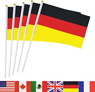 small german flags