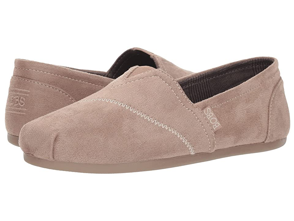 BOBS from SKECHERS Bobs Plush Wonder Love (Taupe) Women