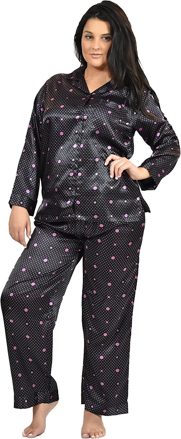 Max 48% OFF Excellent Satin Pajama Sets for Women in of Prints Variety