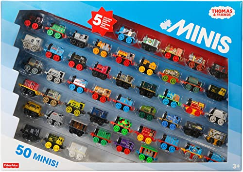 diseñador en linea Thomas and Friends Minis Minis Minis Collection of 50 - with 5 Exclusive Warrior Minis by Thomas & Friends  alta calidad