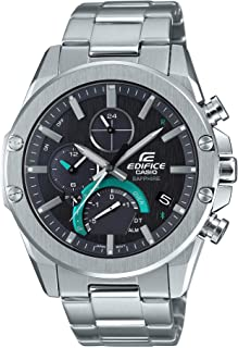 Casio - Men's Edifice Connected Watch with Stainless Steel Strap, Silver, 21.9 (Model: EQB-1000D-1ACF)