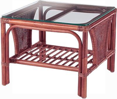 今枝ラタン ローテーブル グリーン 幅55×奥行55×高さ44cm テーブル NO-600SD-スコルピス