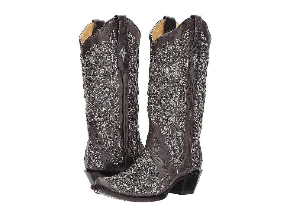 Corral Boots A3320 (Black) Cowboy Boots
