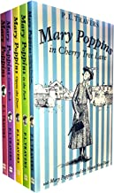 Mary Poppins Collection P L Travers 5 Books Set (Mary Poppins, Mary Poppins in the Park, Mary Poppins in Cherry Tree Lane, Mary Poppins Opens the Door, Mary Poppins Comes Back)