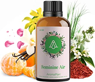 AROMAPLAN Aroma Oil for Scent Diffusers - Feminine Air | Natural & Vegan Aroma Scents - Essential Oil Blends for Aromather...